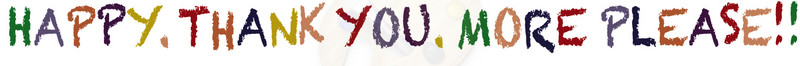 Logo Happy.Thankyou.Moreplease!!