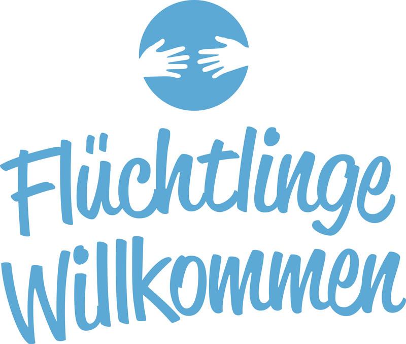 Logo Flüchtlinge Willkommen