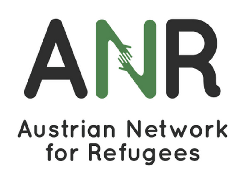 Logo Austrian Network for Refugees