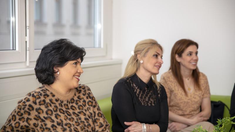 Teilnehmerinnen beim Frauentag im CORE Zentrum