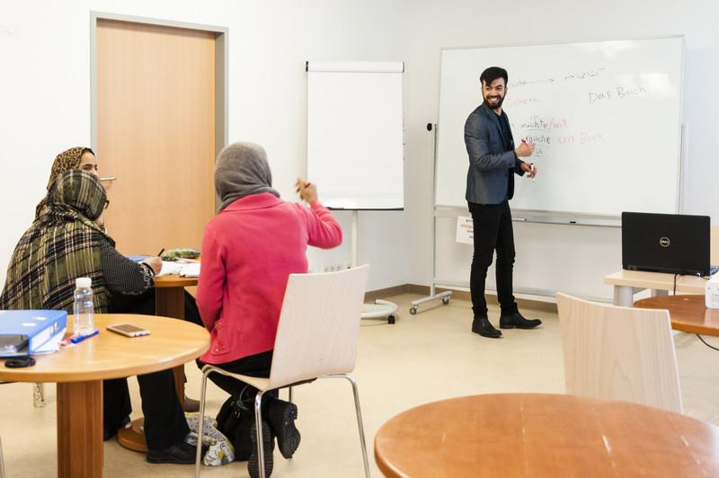 Unterricht im CORE Zentrum