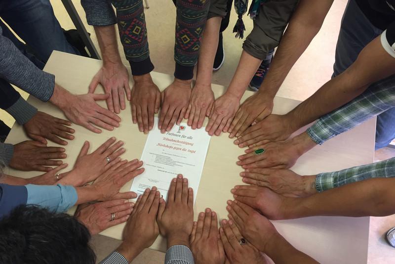 Workshops gegen die Angst